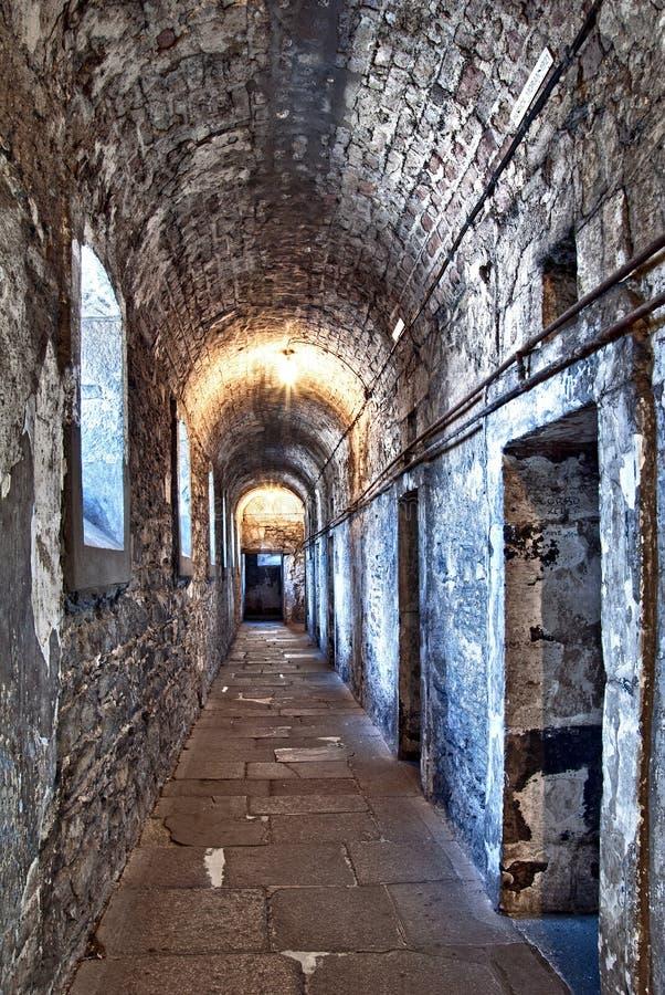 Gaol de Kilmainham, Dublin, Ireland imagens de stock royalty free