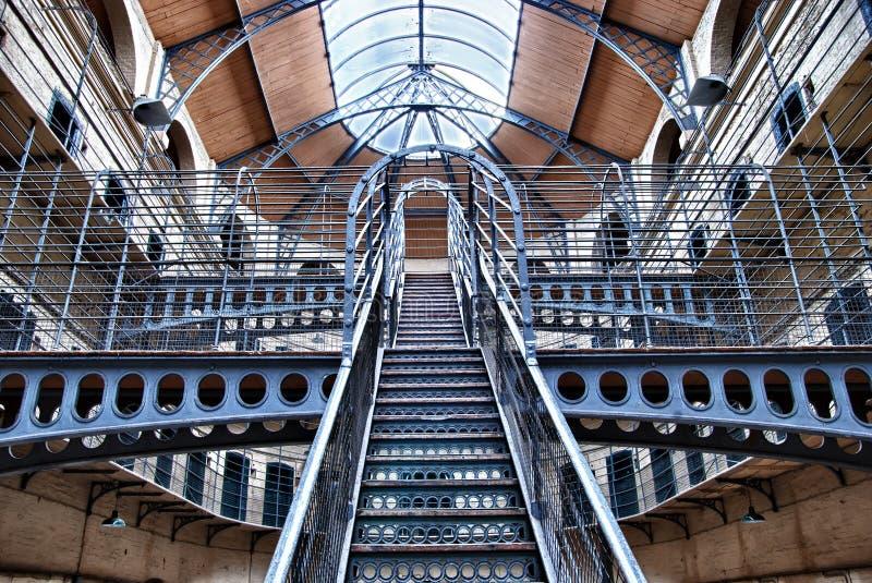 Gaol di Kilmainham, Dublino, Irlanda fotografia stock libera da diritti