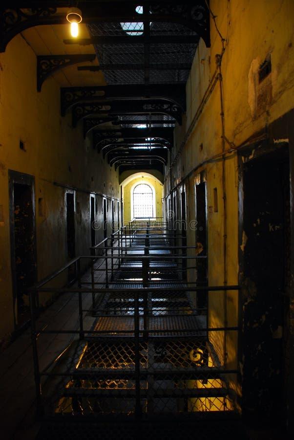 Gaol di Kilmainham - vecchia prigione di Dublino immagine stock