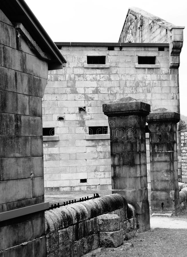 Gaol experimental da baía imagens de stock royalty free