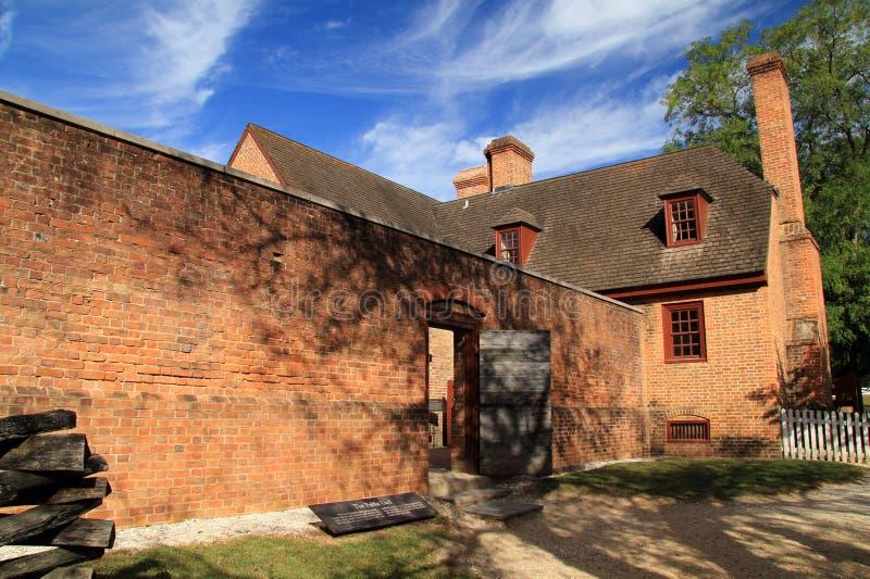 Gaol público fotografia de stock royalty free