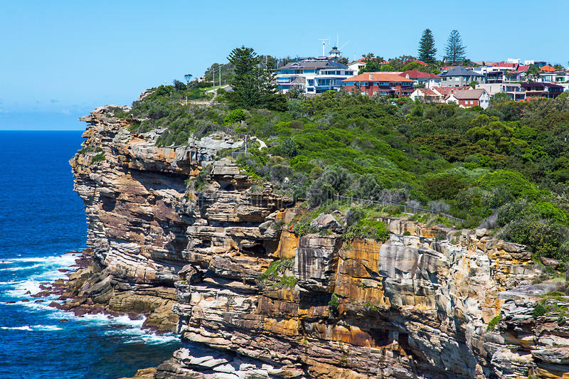 Gap bluffent le parc national Sydney Wales Australia de port photos stock