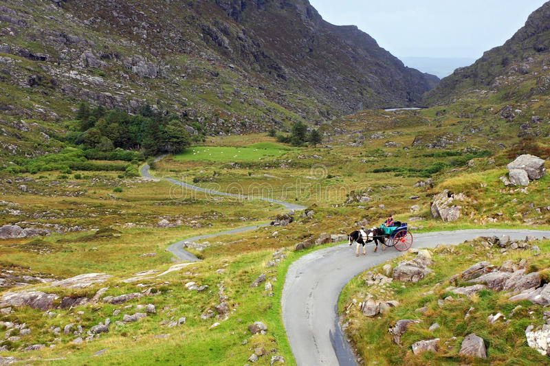 Gap of Dunloe royalty free stock photo
