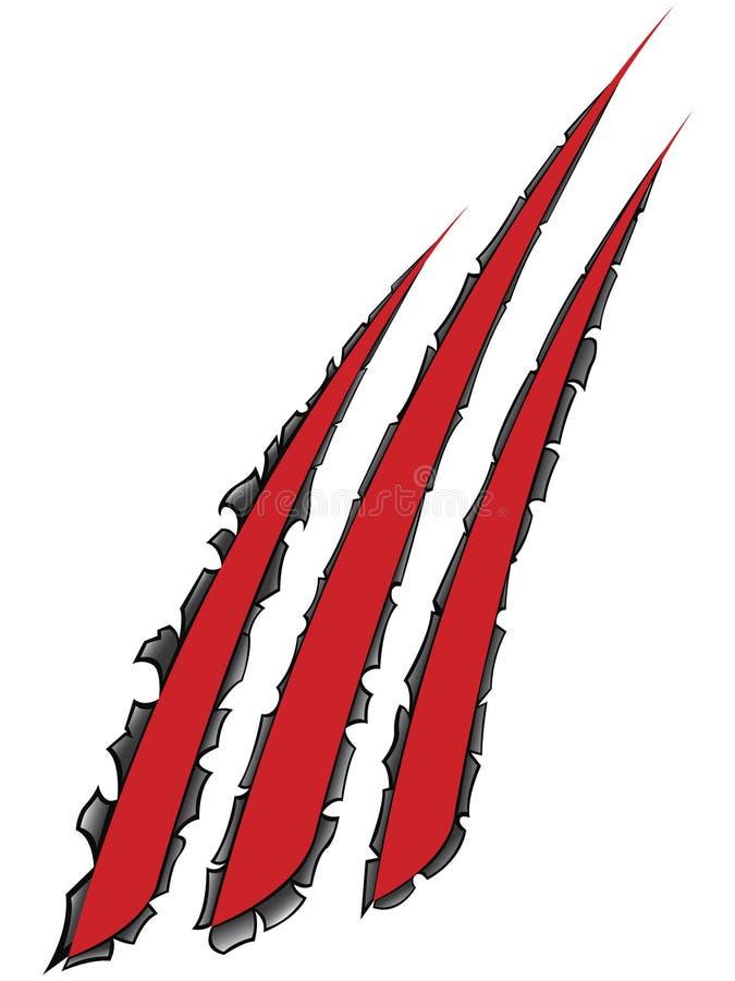 Gap metal. This a gap metal illustration stock illustration