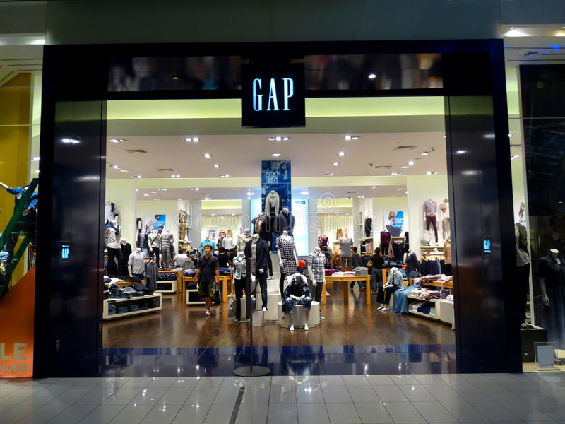 Download GAP Retail Store editorial photo. Image of lifestyle - 18258831