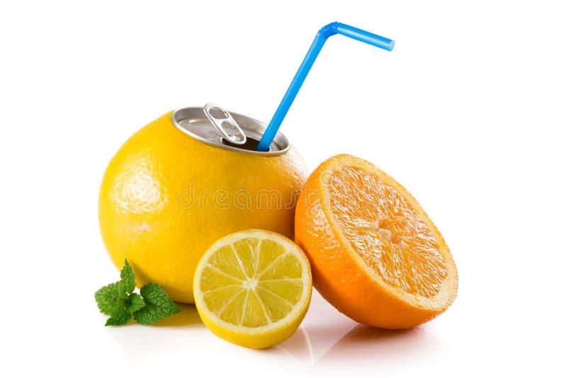 Gapefruit汁液 库存照片