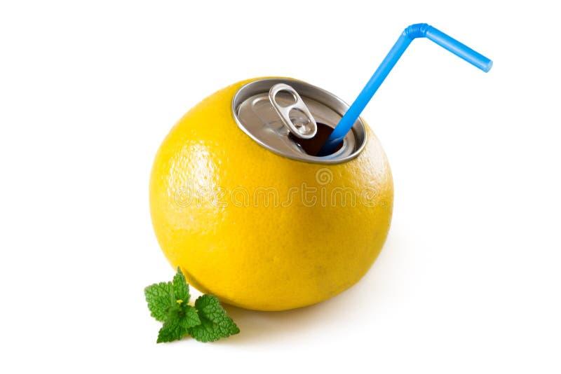 Gapefruit汁液 免版税库存图片
