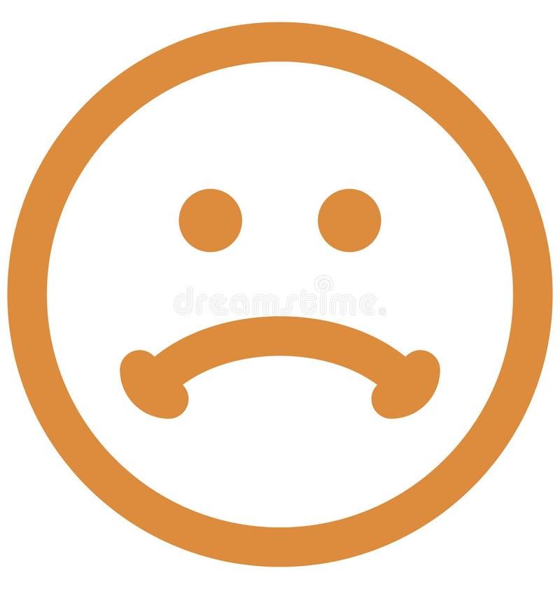 gapi się emoticon, emoticons Wektorowa Odosobniona ikona która może łatwo redagować lub modyfikować ilustracja wektor