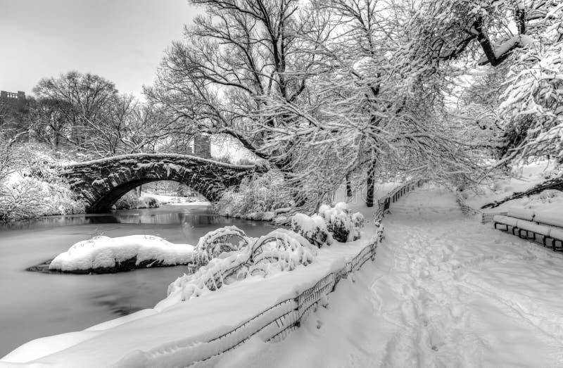 Gapstow mosta central park, Miasto Nowy Jork zdjęcie royalty free