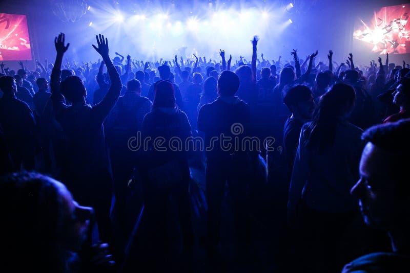 Gapy d O D koncert w Moskwa obraz stock