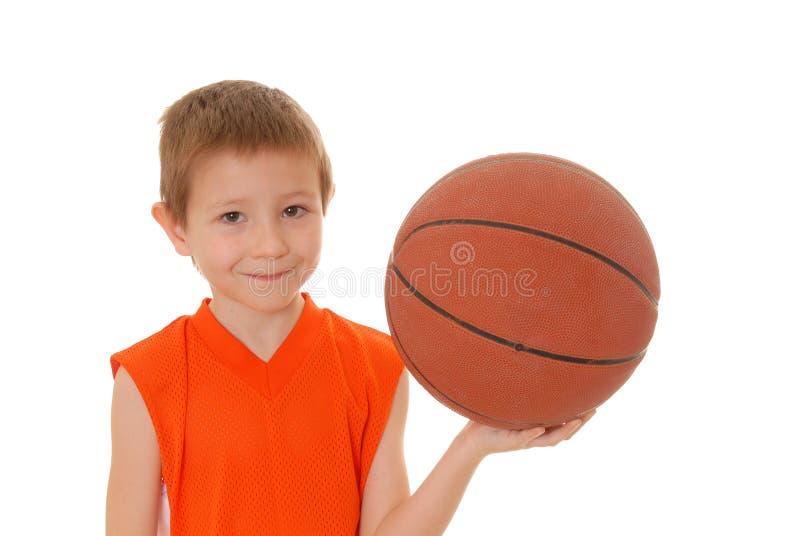 Garçon 16 de basket-ball photos libres de droits
