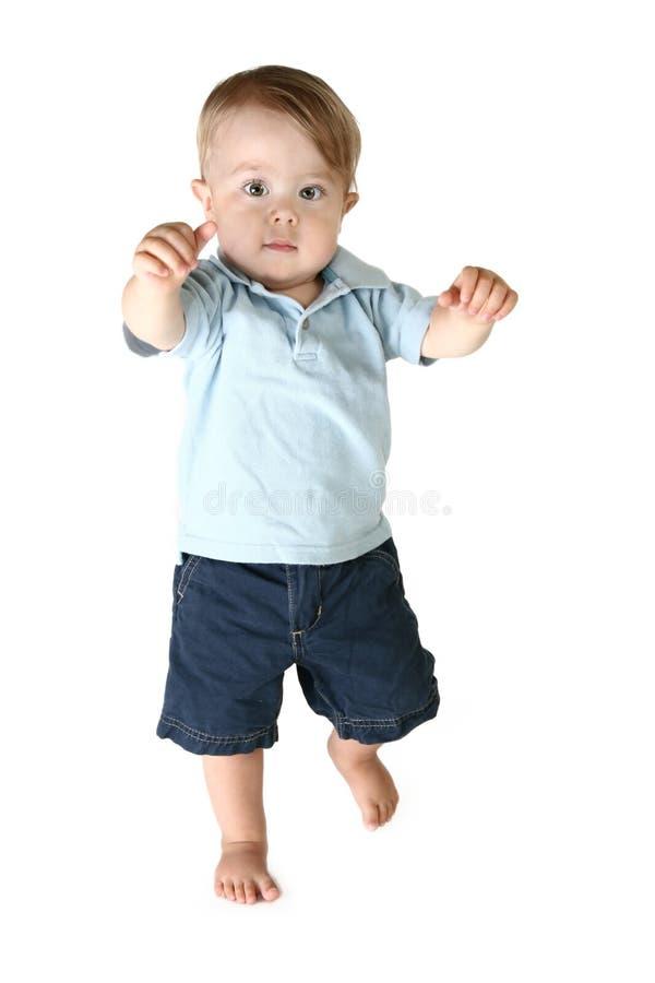 Garçon adorable d'enfant en bas âge images stock