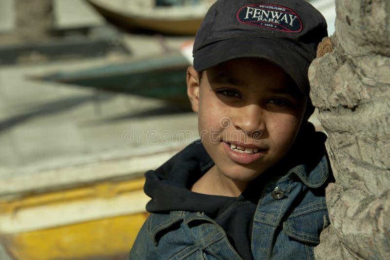 Garçon arabe photographie stock libre de droits