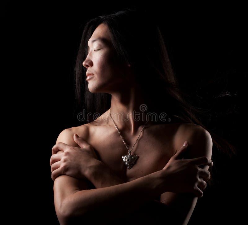 Garçon asiatique photos libres de droits