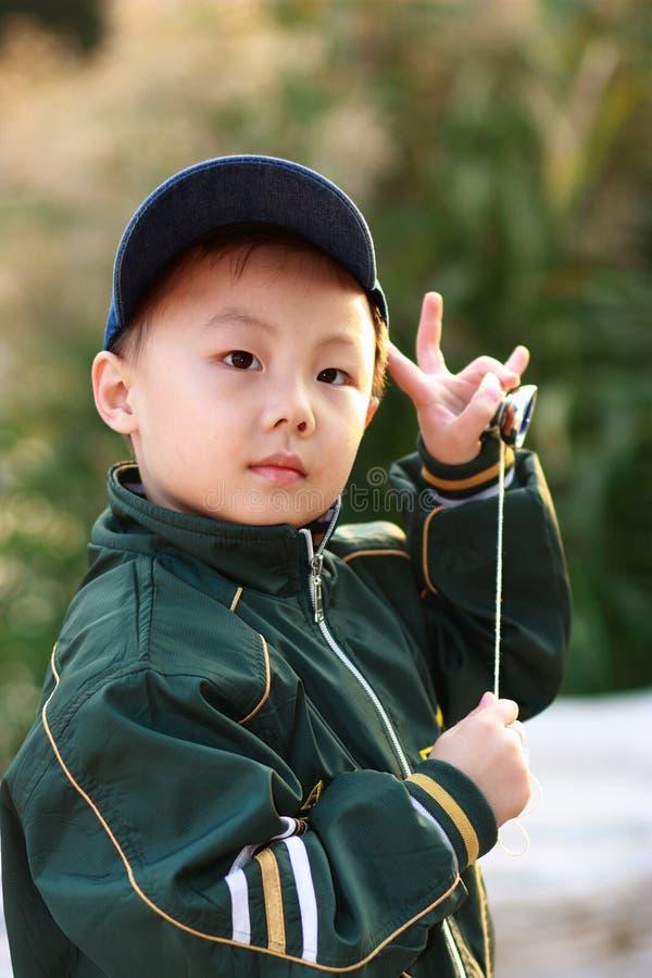Garçon asiatique photo libre de droits