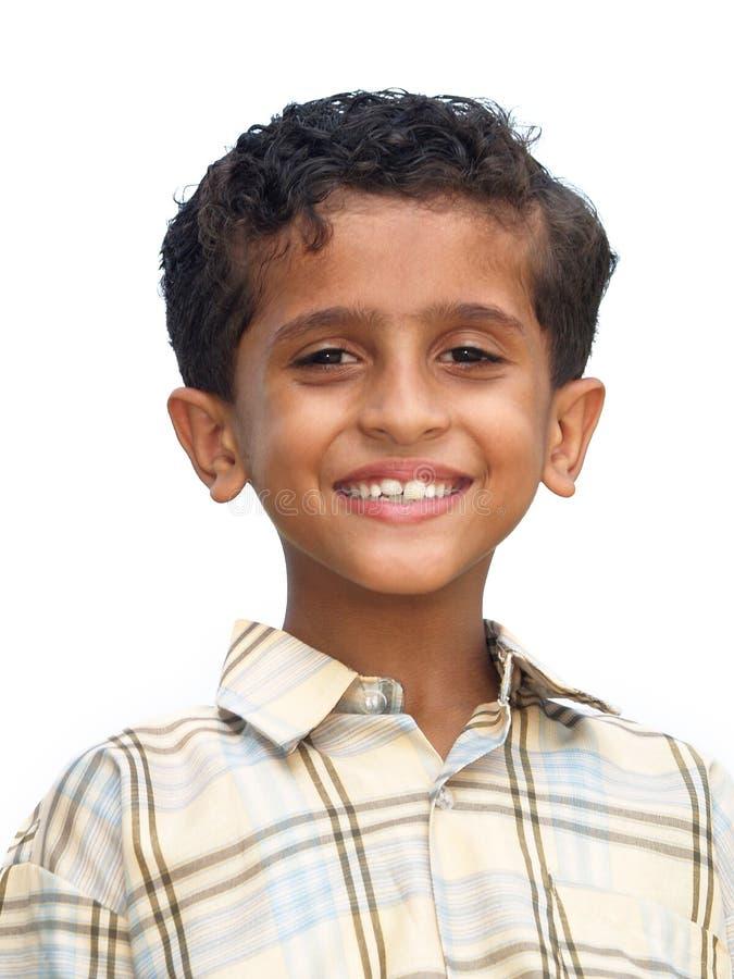 Garçon asiatique heureux photo libre de droits