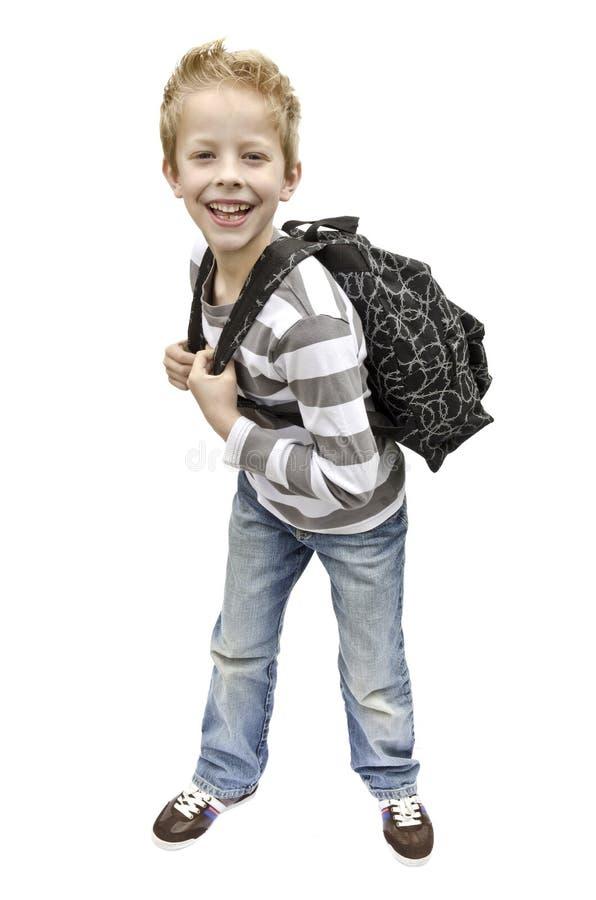 Garçon d'école photos stock