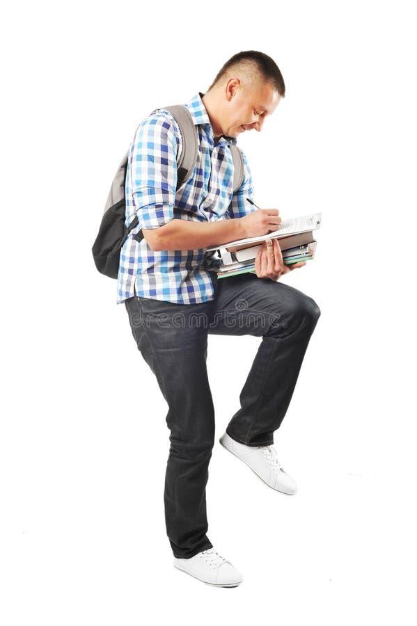 Garçon d'étudiant photo stock