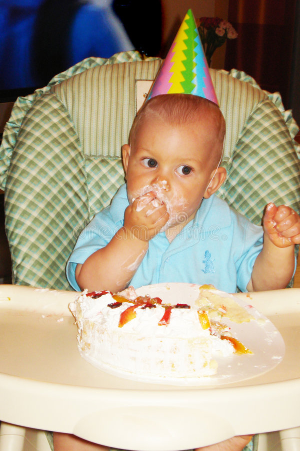 Garçon d'anniversaire image stock