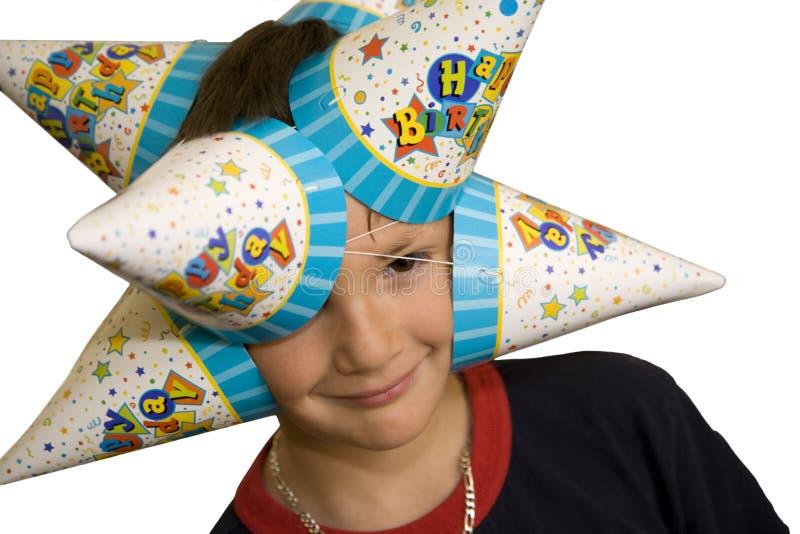 Garçon d'anniversaire photos stock