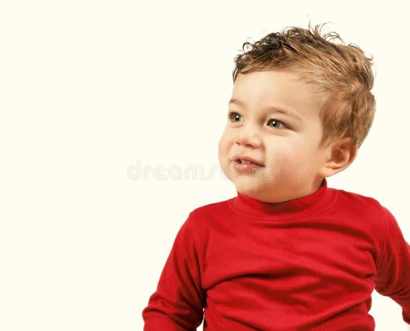 Garçon d'enfant en bas âge photos stock