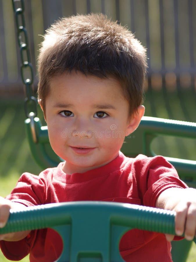 Garçon d'enfant en bas âge d'Enfant-Hispanique photo stock