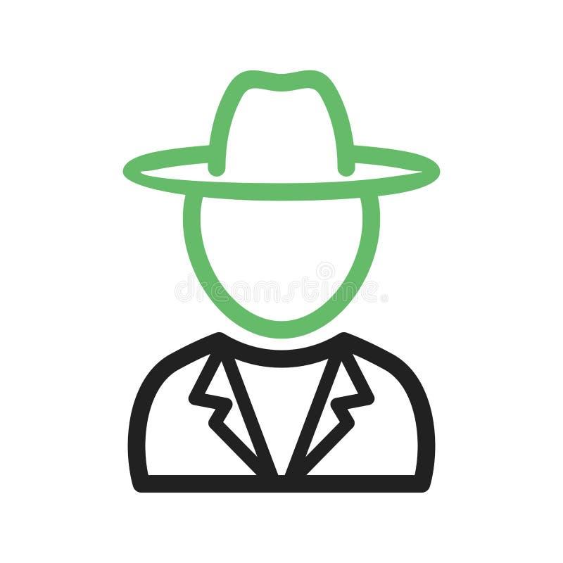 Garçon dans le chapeau occasionnel illustration stock
