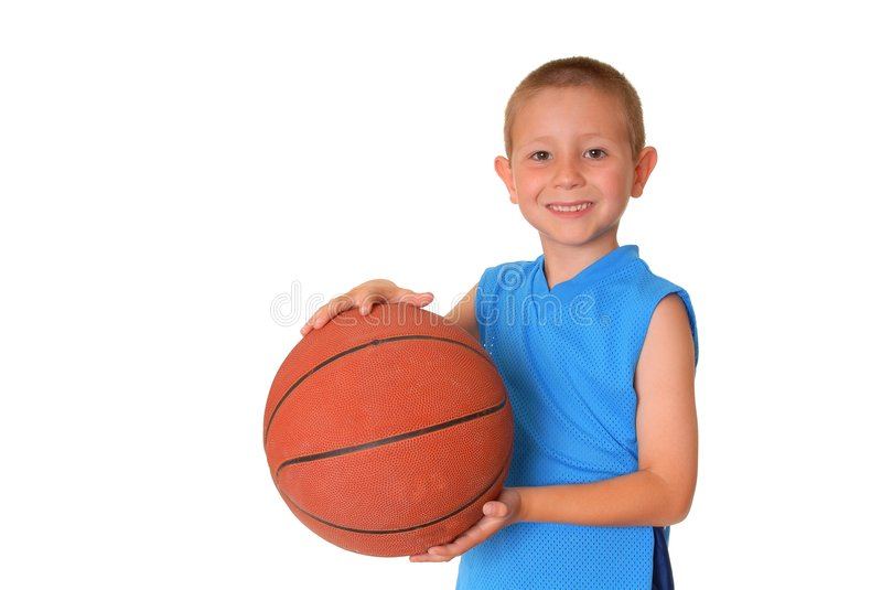 Garçon de basket-ball images stock