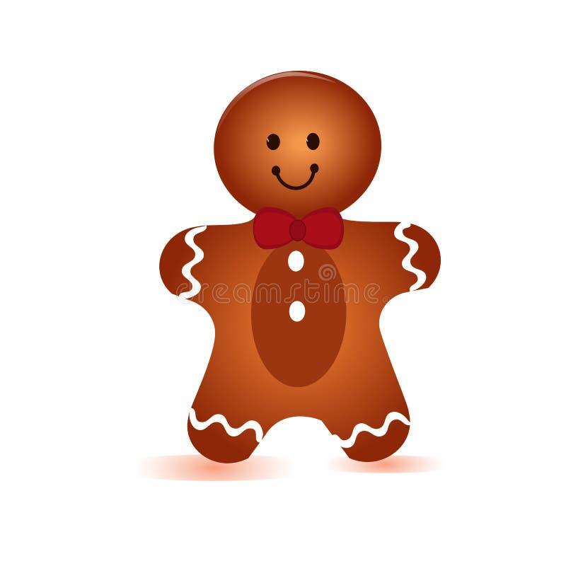 Garçon de biscuit illustration libre de droits