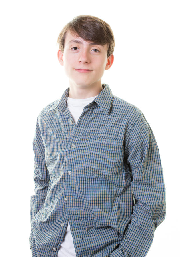 Garçon de l'adolescence image libre de droits