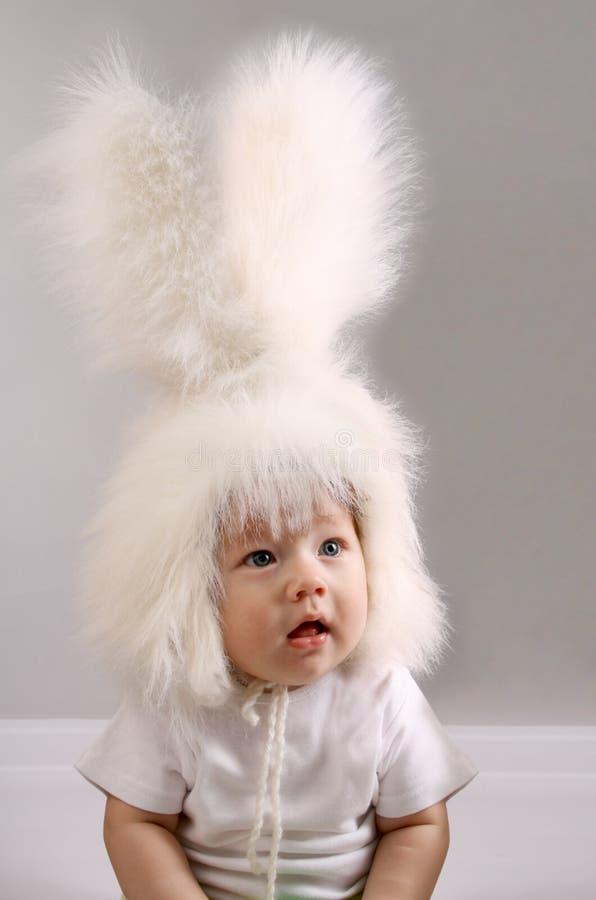 Garçon de lapin photographie stock libre de droits