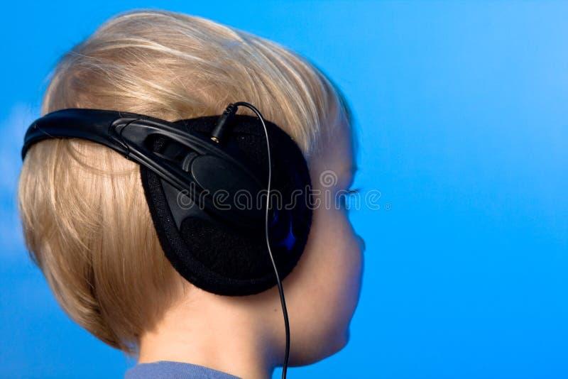 Garçon de musique photos libres de droits