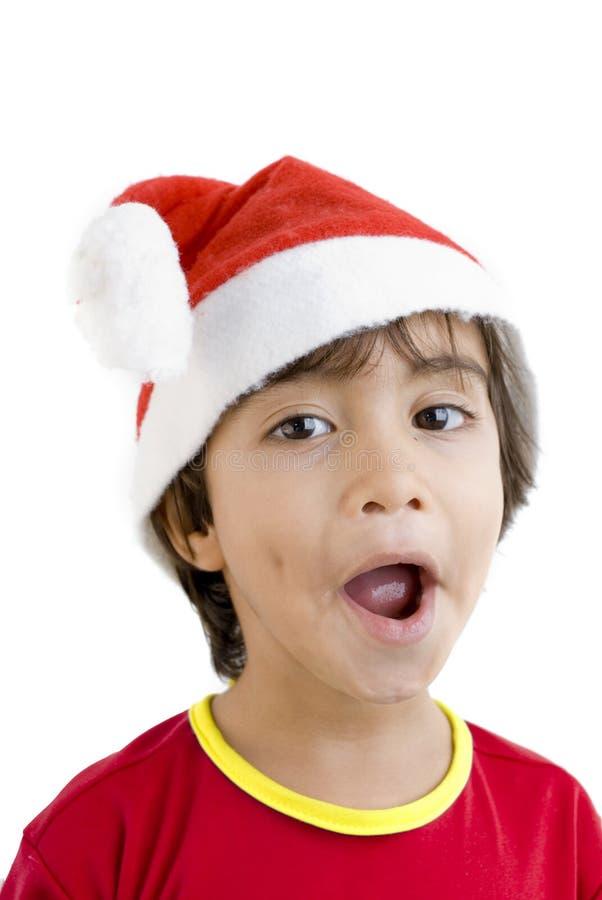 Garçon de Noël image libre de droits
