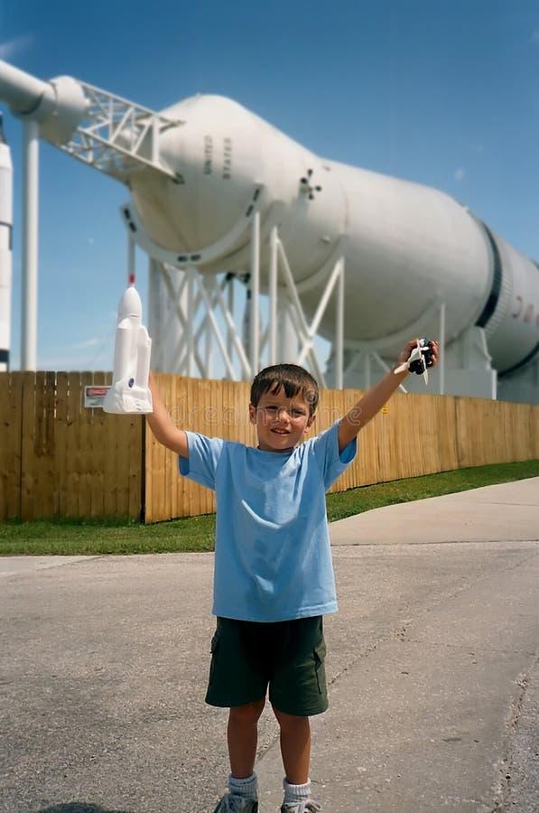 Garçon de Rocket image stock