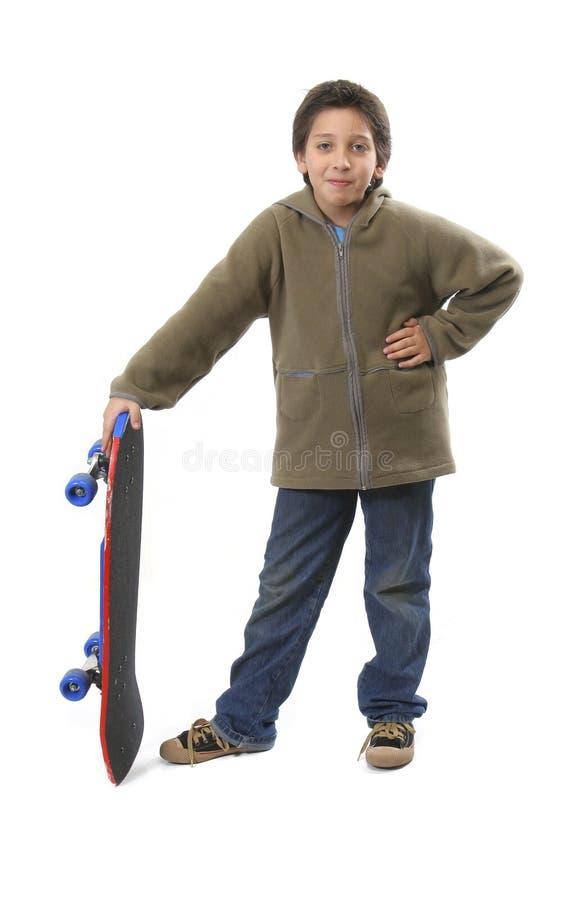 Garçon frais de patineur images libres de droits