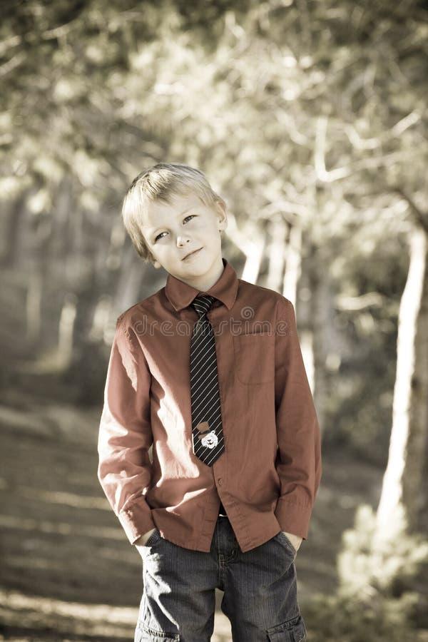 Garçon mignon photos libres de droits
