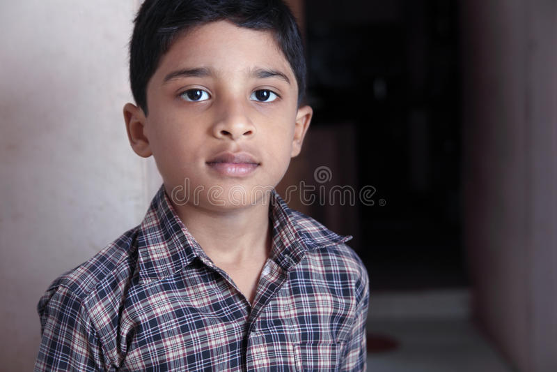 Garçon mignon indien photos libres de droits