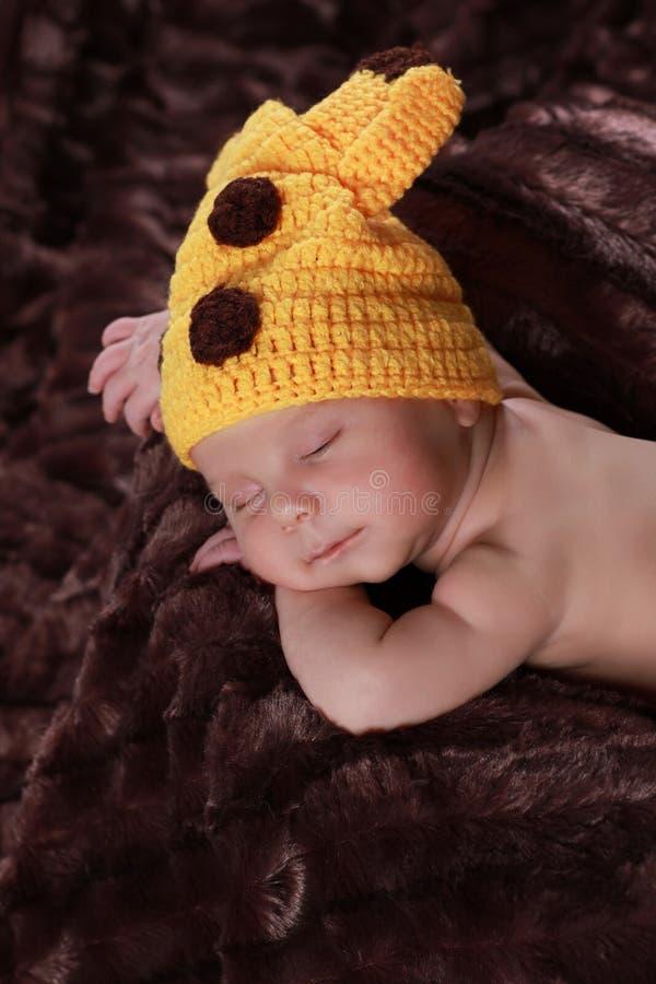 Garçon nouveau-né mignon photo stock
