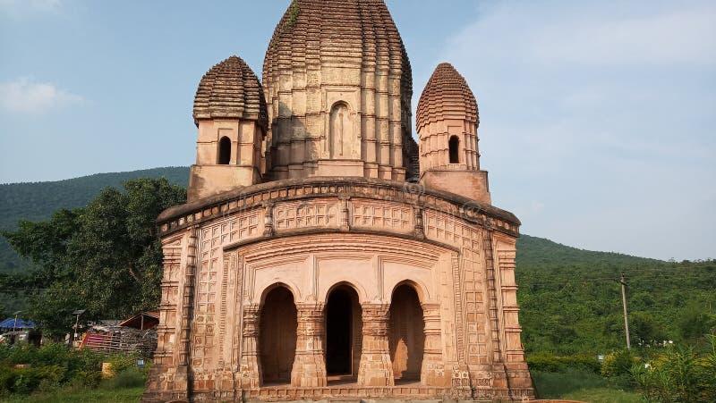 Gar Panchokot Radha Krishna Temple stock images