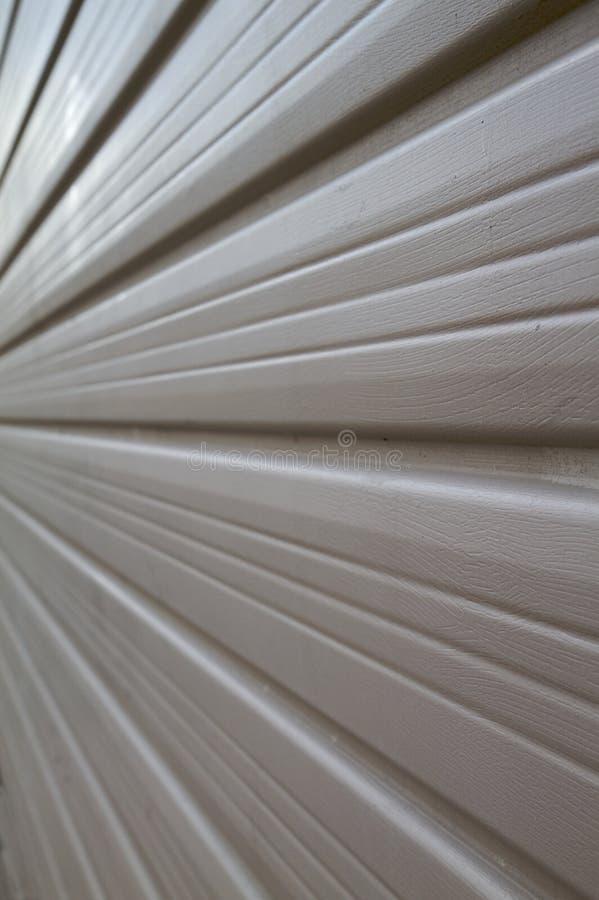 garaż drzwiowa perspektywa obraz stock