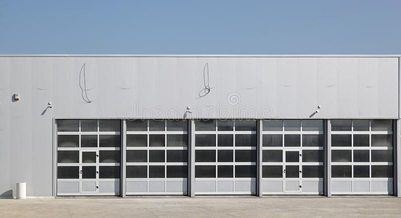 Garaż powierzchowność zdjęcia stock