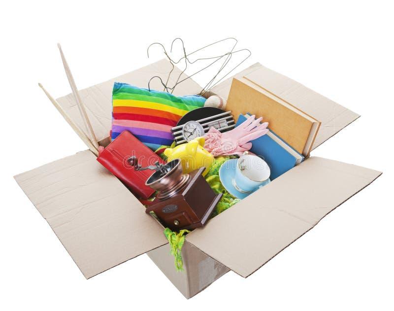 garaż pudełkowata sprzedaż obrazy stock