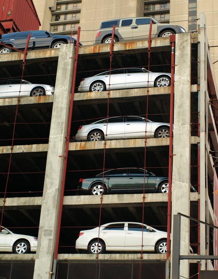 garażu parking zdjęcia stock