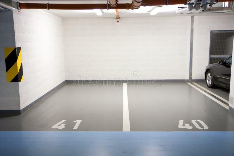 garażu parking metro fotografia royalty free