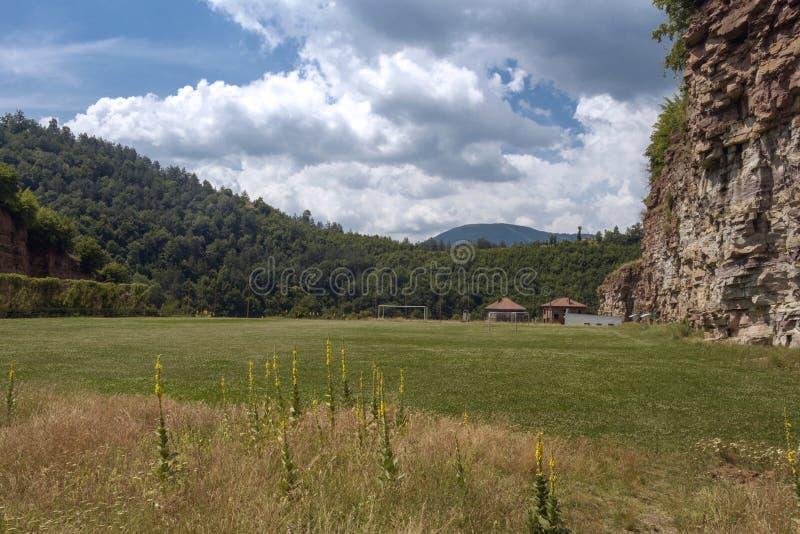 Gara Bov Sofia Province, Bulgarien arkivfoton