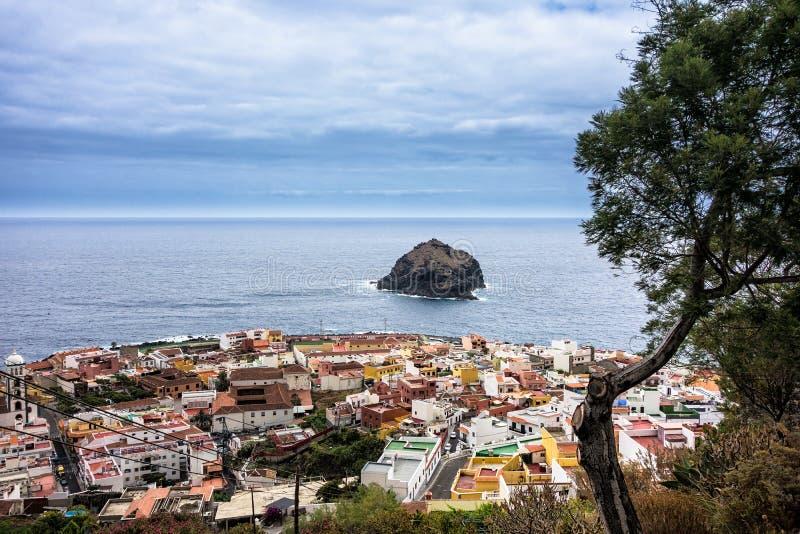 Garachico sur l'île Ténérife photo stock