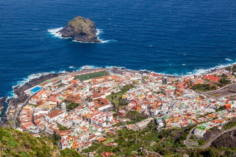 Garachico. Tenerife. royalty-vrije stock foto's