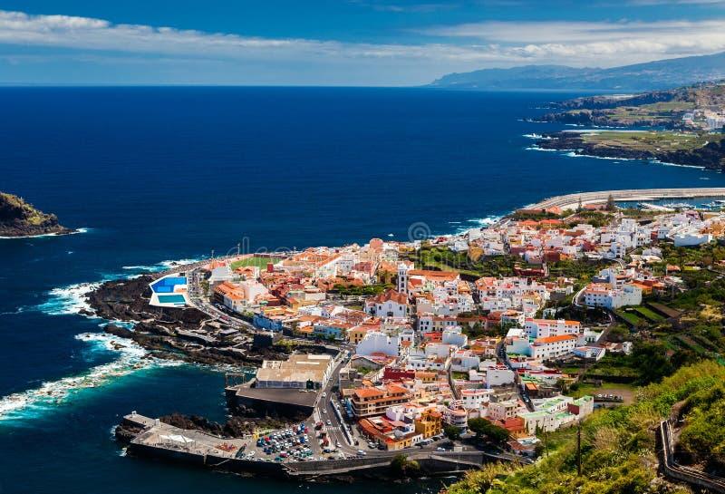 Garachico, Tenerife foto de stock royalty free