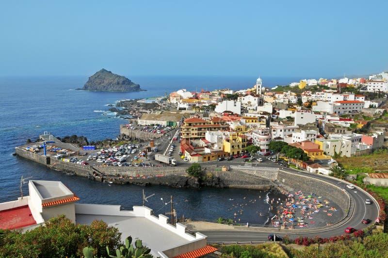 Garachico, Tenerife, Canarische Eilanden, Spanje royalty-vrije stock foto