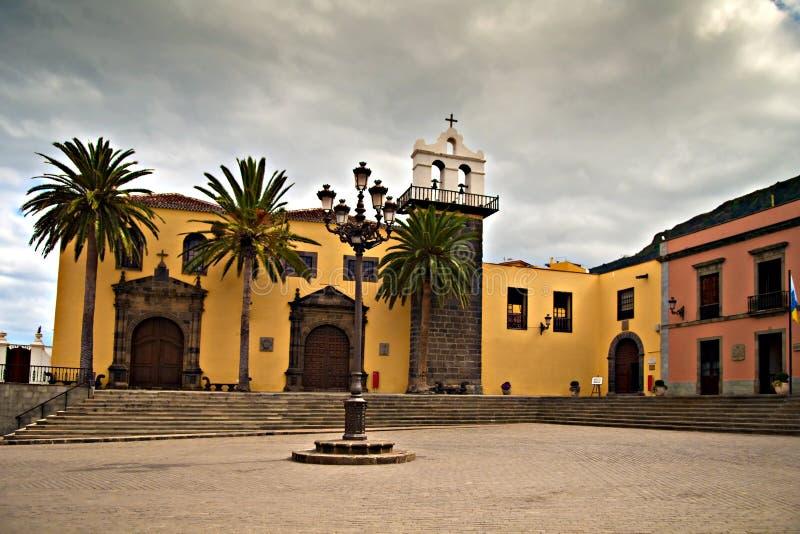 Garachico town center royalty free stock photography